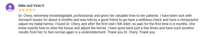 Chiropractic Fort Myers FL Testimonial Mike and Vicki